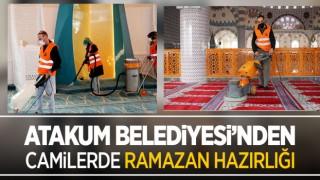 Atakum Belediyesi'nden camilerde Ramazan hazırlığı