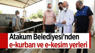 Atakum Belediyesi'nden e-kurban ve e-kesim yerleri