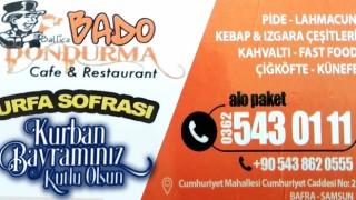 Bafra Bado Dondurma Cafe & Restourant Kurban Bayramı Mesajı