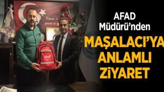 AFAD Müdürü'nden Maşalacı'ya Ziyaret