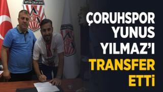 YUNUS YILMAZ ÇORUHSPOR'DA