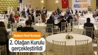 Atakum Kent Konseyi Olağan Kurulu gerçekleştirildi