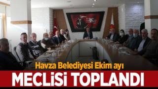 Havza Belediyesi Meclisi toplantı