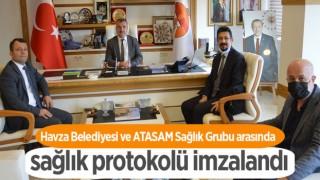 Havza Belediyesi ve ATASAM Sağlık Grubu arasında sağlık protokolü imzalandı