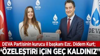 KURUCU İL BAŞKANI'NDAN İKTİDAR CEPHESİNE ELEŞTİRİ