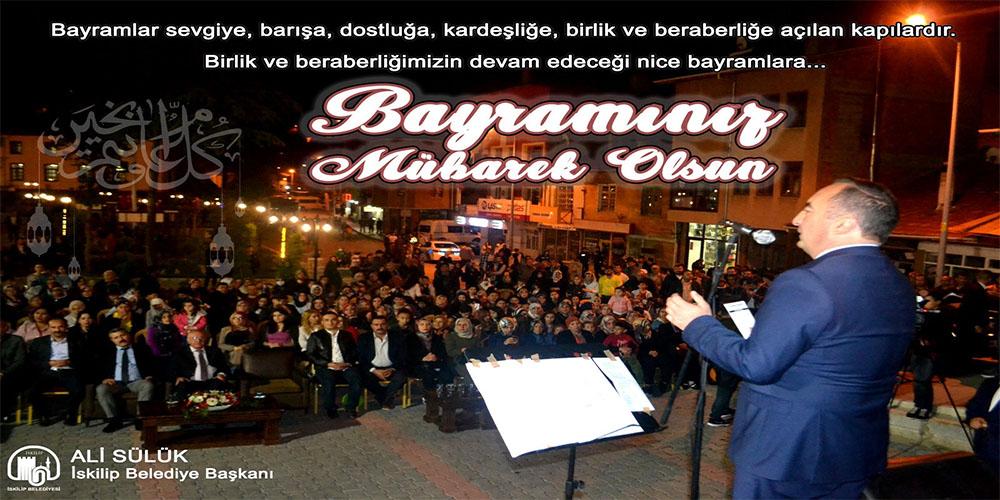 Başkan Ali SÜLÜK'TEN Bayram Kutlaması