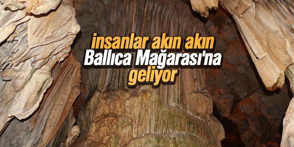 Ballıca Mağarası'na 2019'da 150 bin ziyaretçi