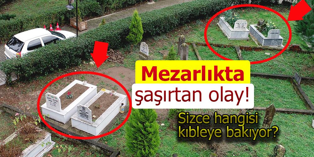 Mezarlıkta görenleri Şaşırtan Olay!