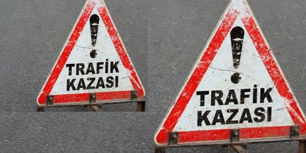 Otomobil yol kenarına devrildi: 2 ölü, 2 yaralı