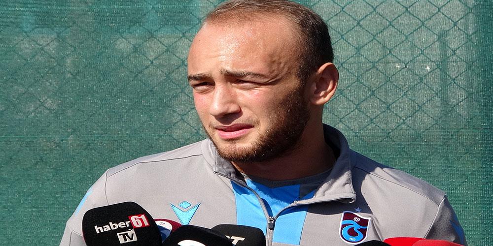 Trabzonsporlu Doğan Erdoğan: Zirveyi hedefleyen takımız